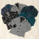 【日本製人気定番商品】ストレッチ2重織り ジャケット
