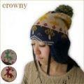 【値下げ!】【Crowny】ウィンター<3color・日本製・手洗い可・ガーリー>