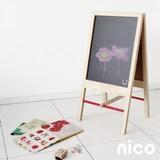 【即納可能】nico kids ウッド 黒板スタンド【キッズ】【ギフト】