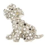 ダルメシアンブローチ(約3.2cm×3.4cm)【犬】【いぬ】【イヌ】