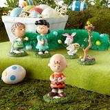 【Department 56】 Peanuts Egg Hunt Set of 6