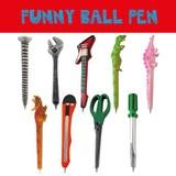 ファニーボールペン * 恐竜や工具などおもしろモチーフのペンです♪