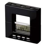 クロック付きUSBハブ(4ポート) / 置時計 デジタル時計 カレンダー 温度計 [海外発送相談可]