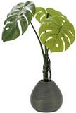 インテリアグリーン リアルモンステラEM【緑】【観葉植物】【光触媒】【フェイクグリーン】