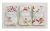 ZAKKA BOOK 掲載商品【やわ肌ガーゼ】バスタオル<日本製><花柄・バラ柄>