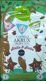 【オーガニック】アクルックス小麦のビスケット ココア風味