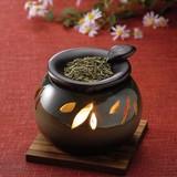 お部屋の消臭に!■常滑焼【茶香炉】山房丸オリベ茶香炉