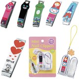 Portable Nail Clippers Set Cat Maniella Poodle Heart