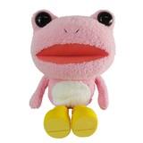 【キックル】ふわふわぬいぐるみ M (ピンク)