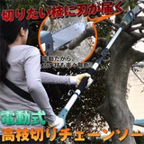 家庭用電動高枝切りチェンソー 高枝健太郎くん ET1208
