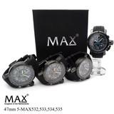 【MAX XL WATCHES】 5-MAX532 5-MAX533 5-MAX534 5-MAX535 腕時計