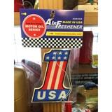 レーシングエアフレッシュナー【USA #1】RAF025