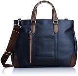 EVERWIN Business Bag Men's Ladies attached leather Light-Weight
