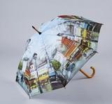 【9月21日から30日まで10%分引きセール!】【ジャンプ傘】ジョーンズ パリストリート
