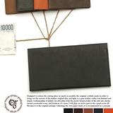 【レザー】【日本製】薄型長財布