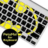 Petamo! for keyboard バットマン(ロゴ)【15営業日前後発送】