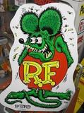 ラットフィンク MDFボードサイン / RAT FINK