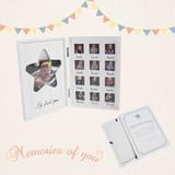 一歳までを飾れるフォトフレーム ★MEMORIES OF YOU メモリーズ オブ ユー★ベビーキッズギフト