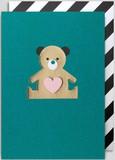 【Kelly Hyatt】 グリーティングカード1000 Teddy Bear
