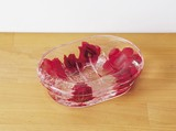 Soap Tray Red Rose
