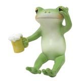 【Copeau】樹脂 ほろ酔いのカエル