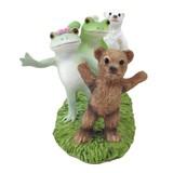 【Copeau】樹脂 コポザイルをするカエルとクマ