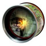 【HenryCats&Friends】缶ナイトライト ベラ/ねこ/猫/ライト/照明/インテリア/プレゼント/ギフト