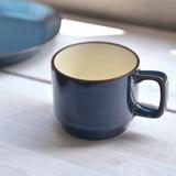 北欧ブルー スタッキングマグカップ[H1255][日本製/美濃焼/洋食器]