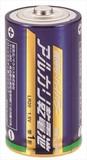 010400 単1 アルカリ乾電池 1P