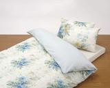 (東京西川)サンダーソン花柄  掛けふとんカバー、枕カバー シングル&ダブル