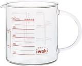 【iwaki】耐熱ガラス レンジメジャーカップ500