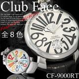 腕時計 ビッグフェイスマットタイプ ベルト ウォッチ メンズ 男性用◇CF-9000RT