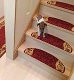 【新生活】階段キズ防止 ペットにも 階段敷マット「リーガ」約23×65cm(1枚)