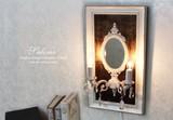 【シャンデリアSALE!】Salome 2灯フレームランプ (OB-064-2W)