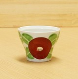 【有田焼】赤椿 フリー碗