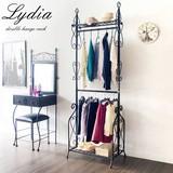 Double Clothes Hanger Rack