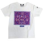 "【SALE】【2015年春夏新作】<キッズ/ガールズ>ART BOX""PARIS""半袖Tシャツ"