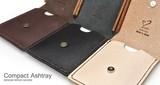【木製雑貨】木と革の携帯灰皿カバーA