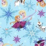 アナと雪の女王 フリースプリント生地 53318 10ヤード