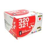 【Canon】キャノン互換インク BCI-321+320/5MP用 5色 SHC-321+320-5PACK