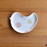 【白山陶器】PiPi ふわりオレンジ フリープレート<波佐見焼>