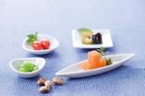 【キッチン】 かわいい豆小皿 【藍/十草/水引 // 角/丸/鉢/葉/扇/箕】<和柄>
