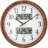 訳あり特価!シチズン電波掛時計 ピュアカレンダーM617  4FY617-023