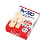 【取寄商品】 キューゴバン 水に強いお徳用キズテープ 40枚入