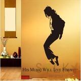 【King  of Pop】ウォールステッカー  北欧 有名/人/マイケルジャクソン新生活
