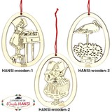 フランス アルザス hansi(ハンジ) 木製オーナメント