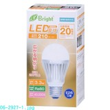 配光200°LED電球20/40/60W相当 電球色/昼光色