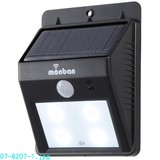 LEDソーラー式センサーウォールライト