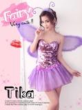 【各種イベントの衣装に♪】【Tika ティカ】3set妖精コスプレセットアップ