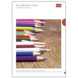 【LA DOLCE VITA】フォトシリーズ 18 A4クリアファイル 11417 カラーペンシル